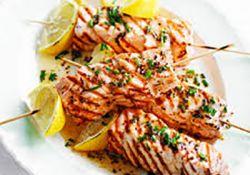 کباب ماهی ادویه ای