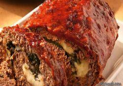رولت گوشت و پنیر