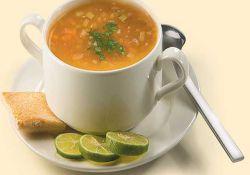 سوپ قارچ و کرفس